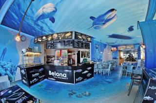 Kołobrzeg Restauracja Smażalnia ryb polska ryby i owoce morza Belona